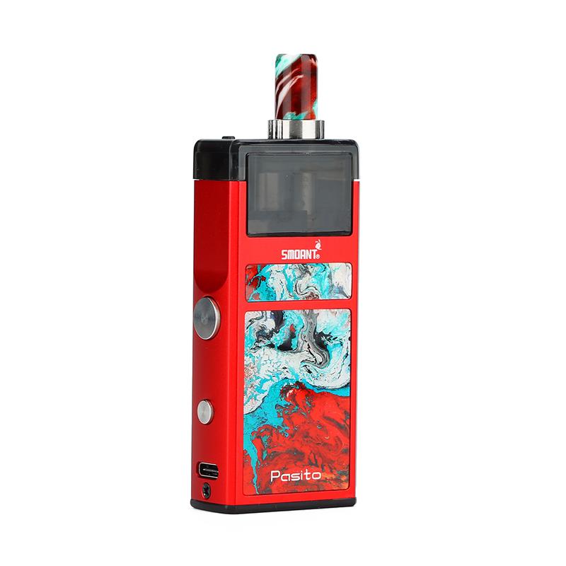 Elektronická cigareta: Smoant Pasito Pod Kit (1100mAh) (Red)