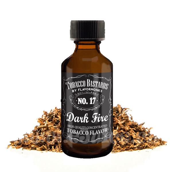 Příchuť Tobacco Bastards: No. 17 Dark Fire (Burley tabák) 10ml