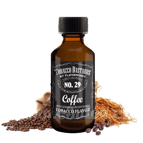 Příchuť Tobacco Bastards: No. 29 Coffee (Kávový tabák) 10ml
