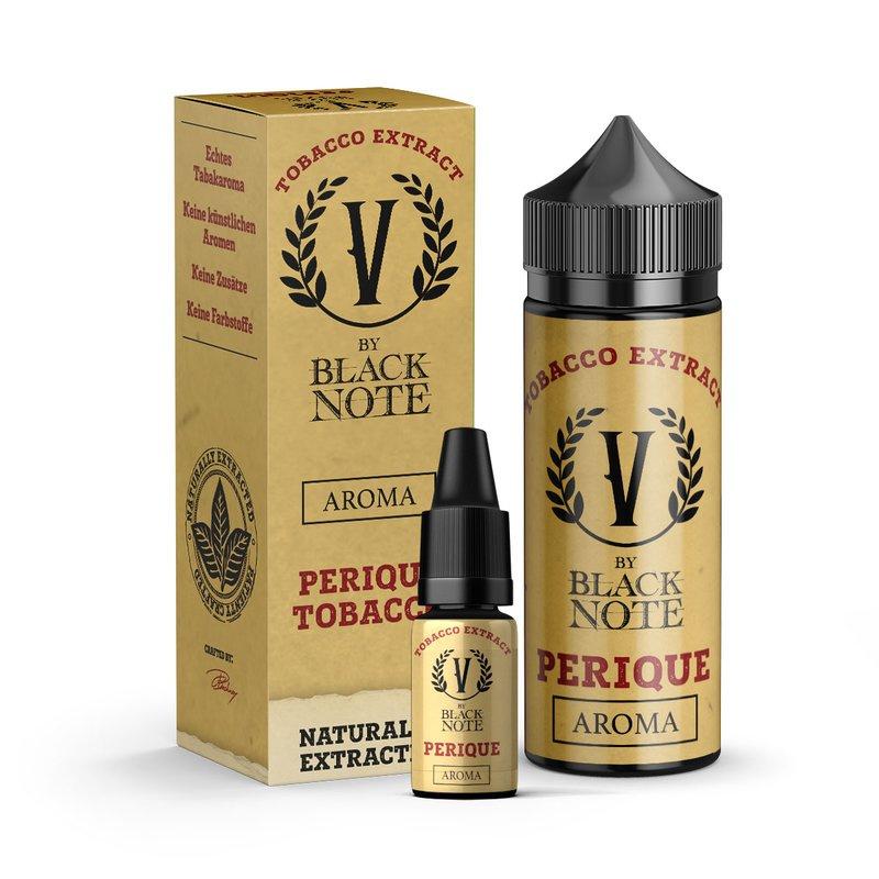 Příchuť V by Black Note: Perique (Jemný americký tabák) 10ml