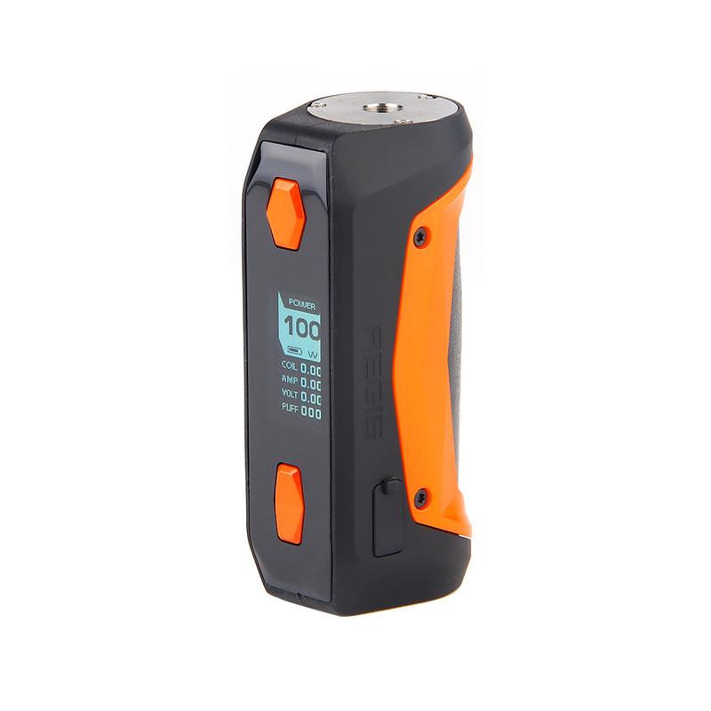 Elektronický grip: GeekVape Aegis Solo Mod (Oranžový)