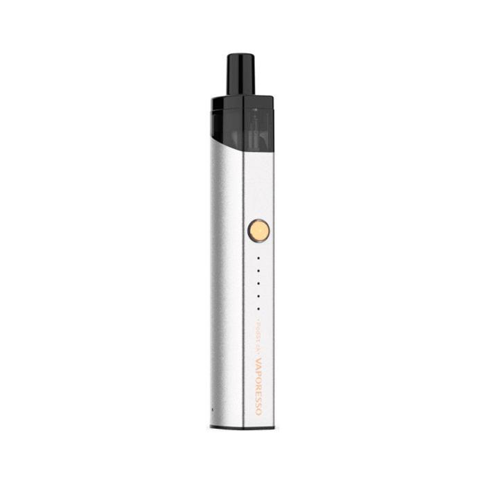Elektronická cigareta: Vaporesso PodStick Pod Kit (900mAh) (Silver)