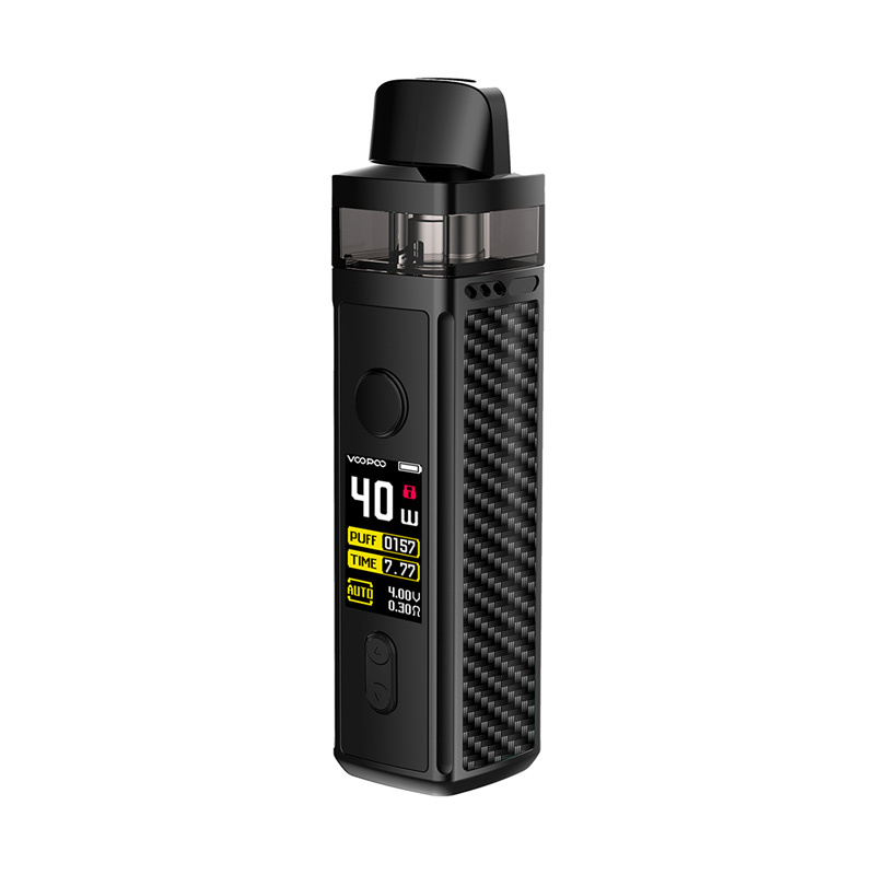 Elektronická cigareta: VooPoo Vinci Mod Pod Kit (1500mAh) (Carbon Fiber)