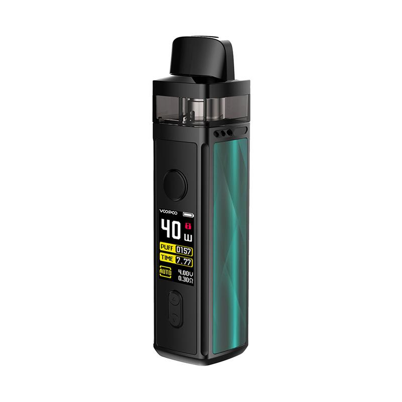 Elektronická cigareta: VooPoo Vinci Mod Pod Kit (1500mAh) (Dazzling Green)