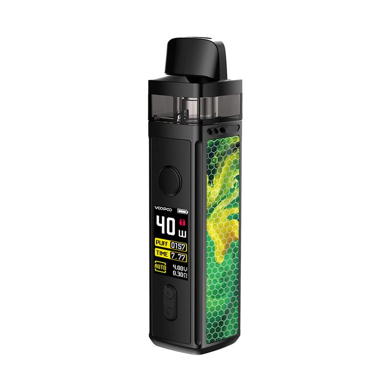 Elektronická cigareta: VooPoo Vinci Mod Pod Kit (1500mAh) (Jade Green)