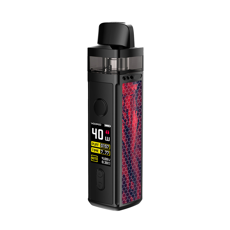 Elektronická cigareta: VooPoo Vinci Mod Pod Kit (1500mAh) (Scarlet)