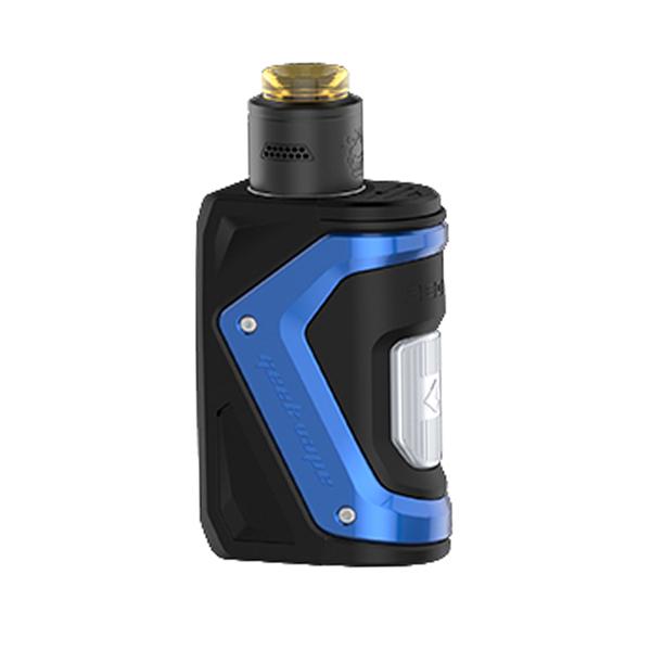 Elektronický grip: GeekVape Aegis Squonker Kit s Tengu RDA (Modrý)