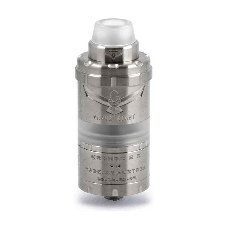 Clearomizér Vapor Giant Kronos 2 S RTA (4ml) (Stříbrný)