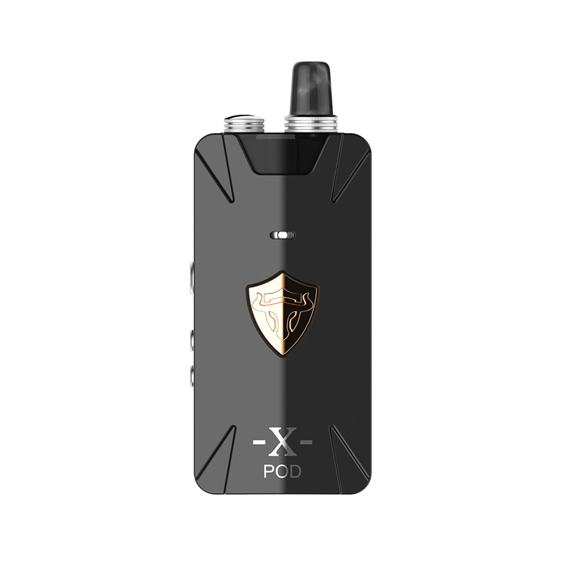 Elektronická cigareta: THC Tauren X Pod Kit (1000mAh) (Šedá)
