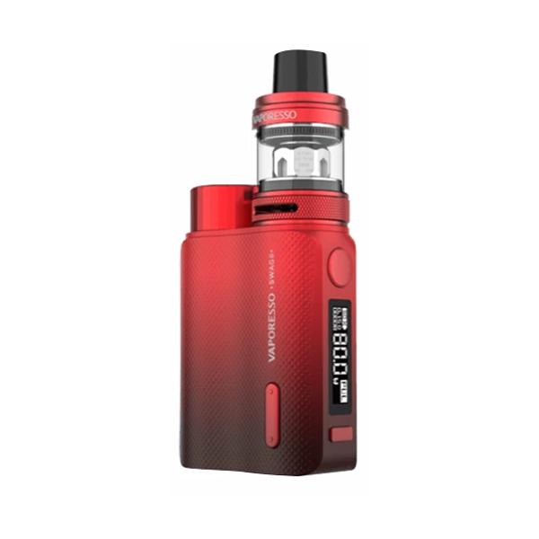 Elektronický grip: Vaporesso Swag II Kit s NRG PE (Červený)