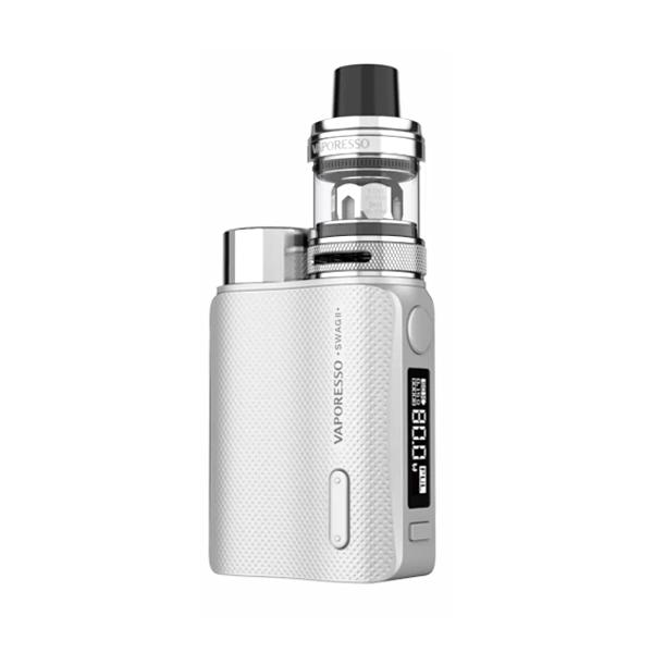 Elektronický grip: Vaporesso Swag II Kit s NRG PE (Stříbrný)
