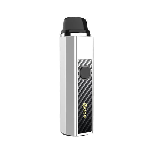 Elektronická cigareta: OneVape Mace 55 Pod Kit (1500mAh) (Silver CF)