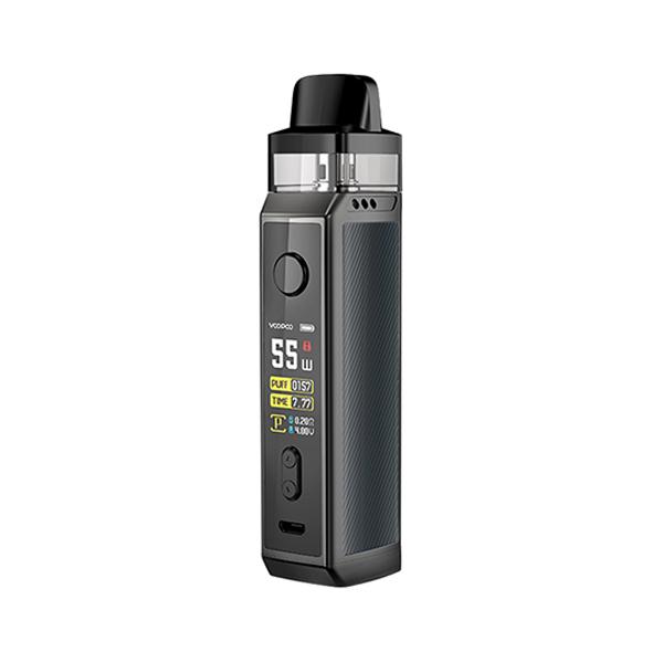 Elektronická cigareta: VooPoo Vinci X Mod Pod Kit (Space Gray)