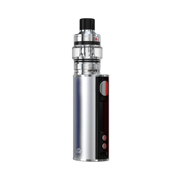 Elektronický grip: Eleaf iStick T80 Kit s Pesso Tank (3000mAh) (Stříbrný)