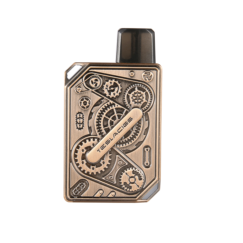 Elektronická cigareta: Tesla Punk Pod Kit (600mAh) (Antique Copper)