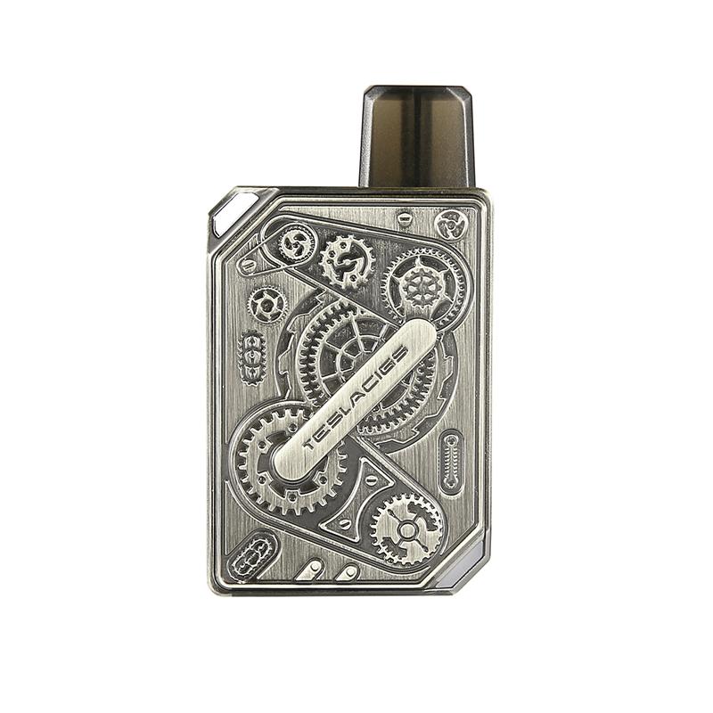 Elektronická cigareta: Tesla Punk Pod Kit (600mAh) (Gun Metal)