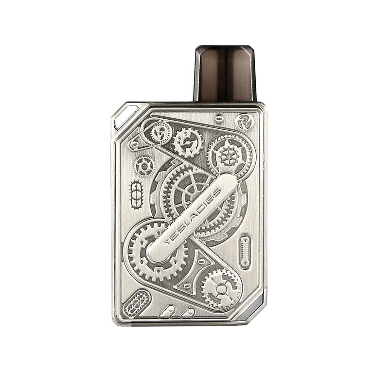 Elektronická cigareta: Tesla Punk Pod Kit (600mAh) (Stainless Steel)