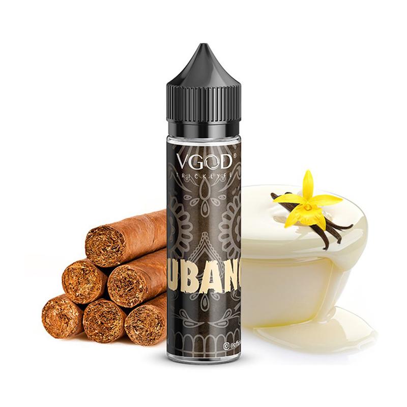 Příchuť VGOD S&V: Cubano (Doutníkový tabák s vanilkou) 20ml
