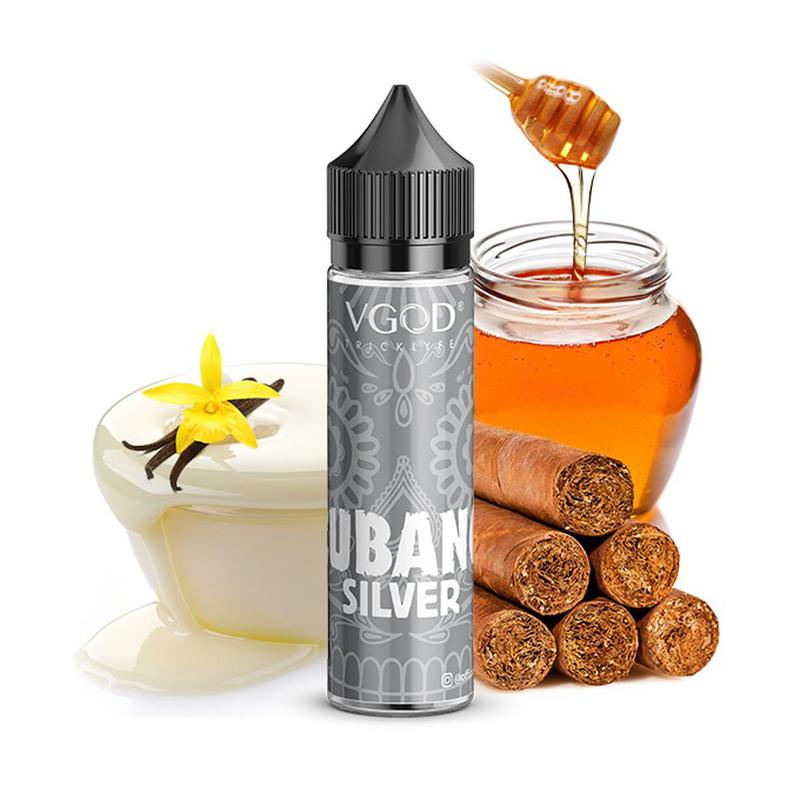 Příchuť VGOD S&V: Cubano Silver (Sladký doutníkový tabák) 20ml