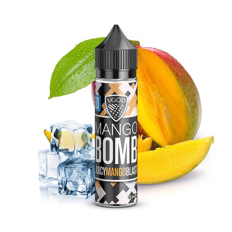 Příchuť VGOD S&V: Mango Bomb Ice (Ledové mango) 20ml