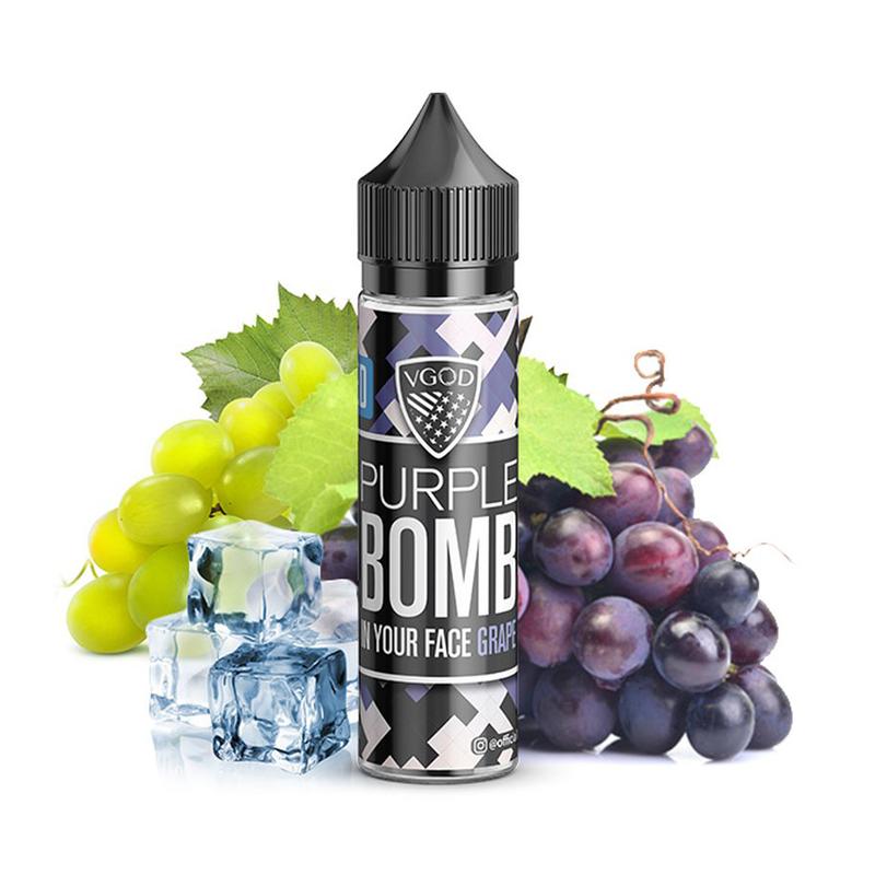 Příchuť VGOD S&V: Purple Bomb Ice (Ledový hroznový mix) 20ml