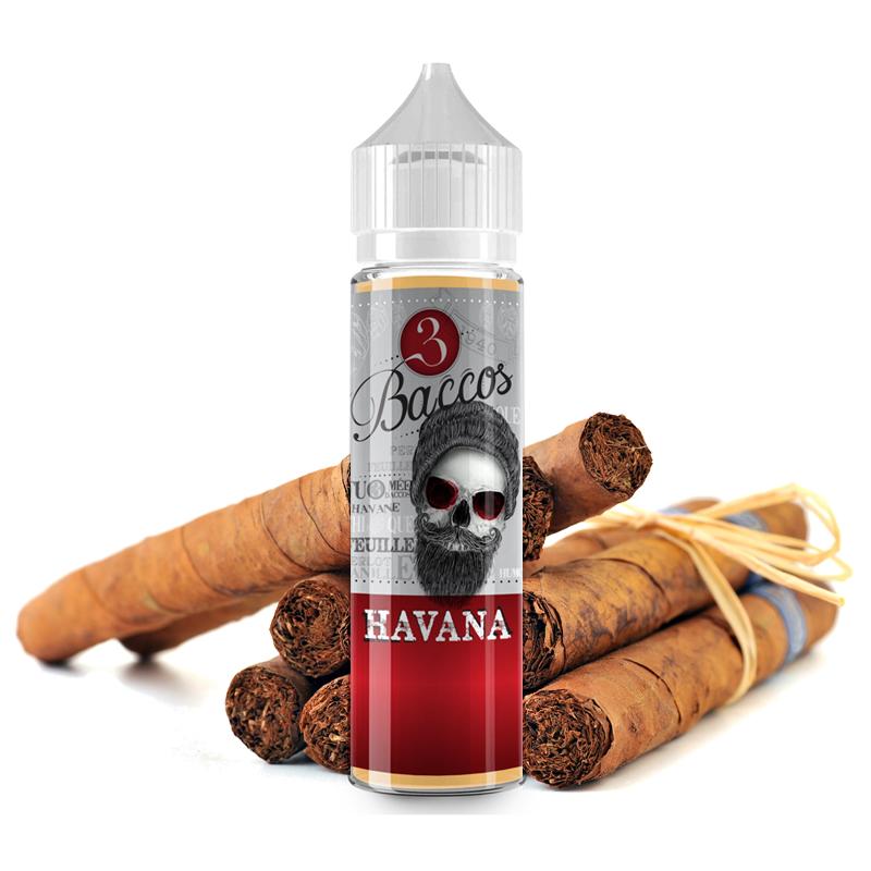Příchuť 3 Baccos S&V: Havana (Doutníkový tabák) 15ml