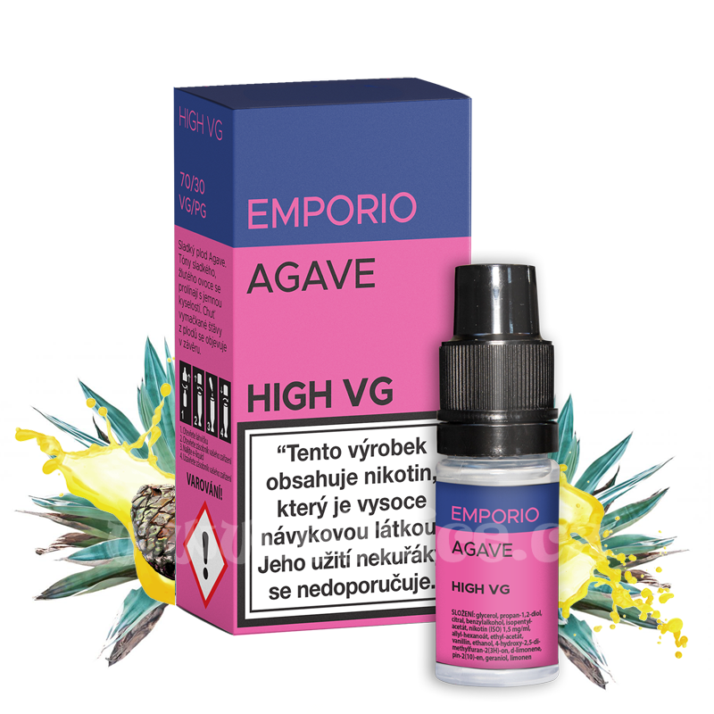 E-liquid Emporio High VG 10ml / 0mg: Agave