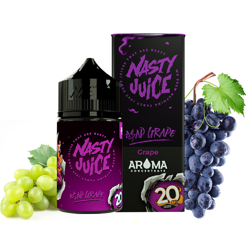 Příchuť Nasty Juice S&V: Asap Grape (Hroznové víno s bobulemi) 20ml