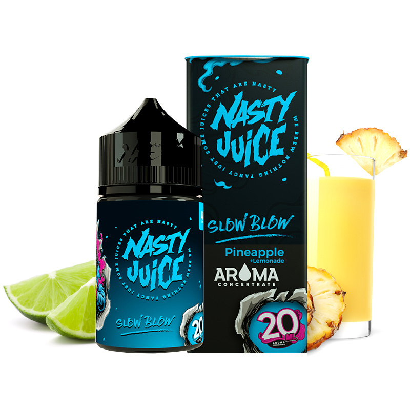 Příchuť Nasty Juice S&V: Slow Blow (Ananasová limonáda) 20ml