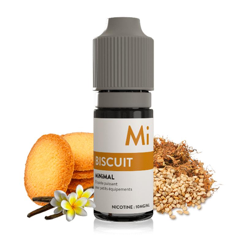 E-liquid The Fuu MiNiMAL 10ml / 10mg: Biscuit (Jemná sušenka)