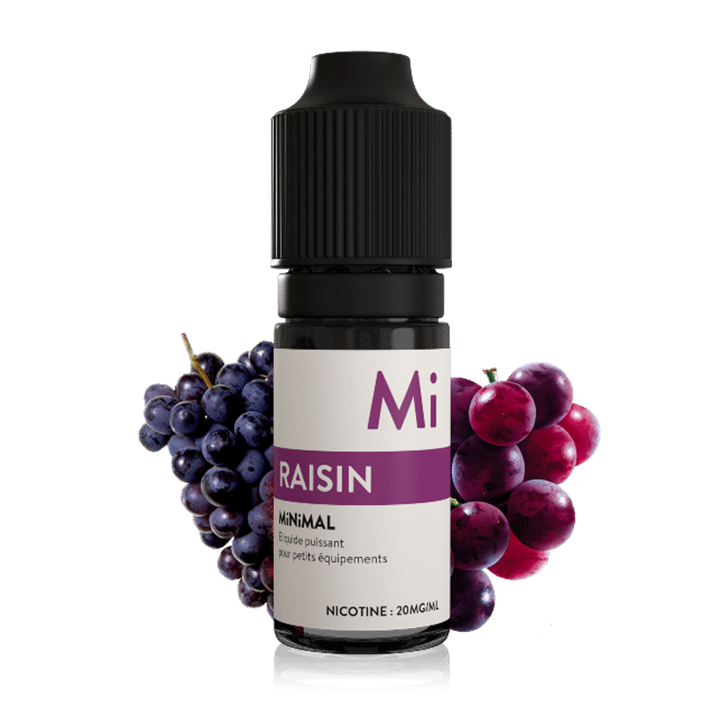 E-liquid The Fuu MiNiMAL 10ml / 20mg: Grape (Hroznové víno)