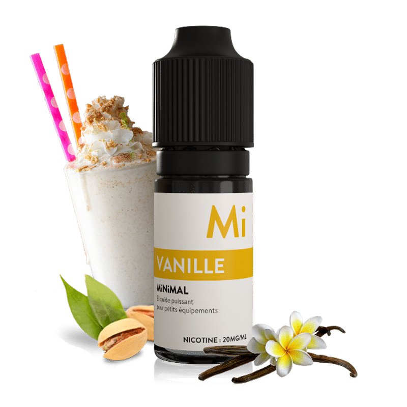E-liquid The Fuu MiNiMAL 10ml / 20mg: Vanilla (Francouzská vanilka)
