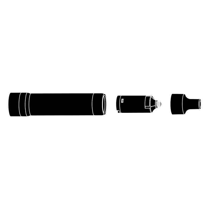 Elektronická cigareta: Acrohm Fush Nano Pod Kit (550mAh) (Silver)