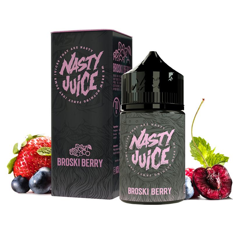 Příchuť Nasty Juice S&V: Broski Berry (Bobulovitá směs) 20ml