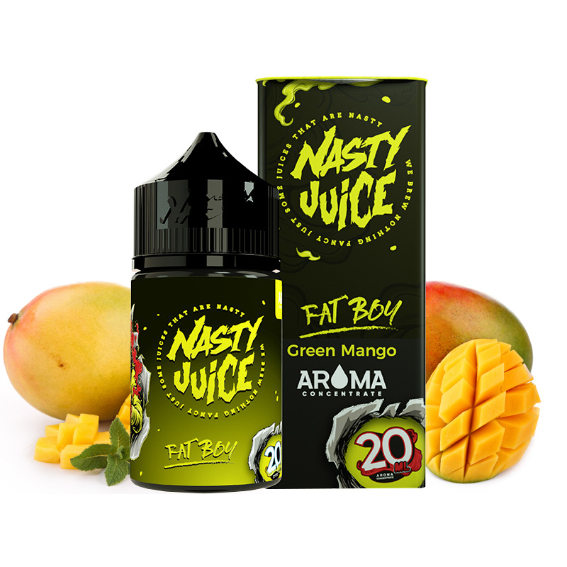 Příchuť Nasty Juice S&V: Fat Boy (Ledové mango) 20ml