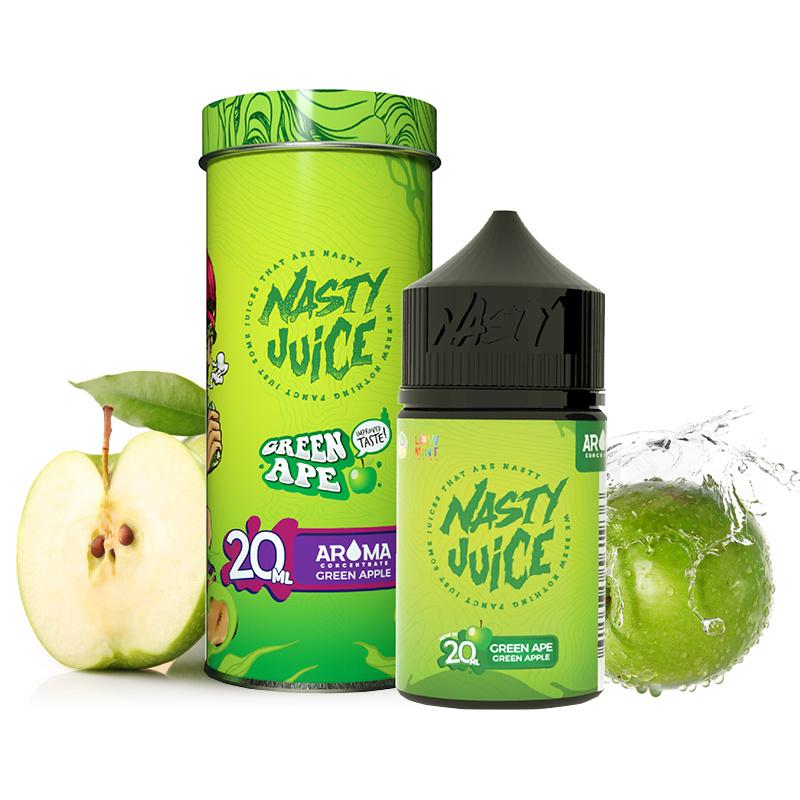 Příchuť Nasty Juice S&V: Green Ape (Zelené jablko) 20ml