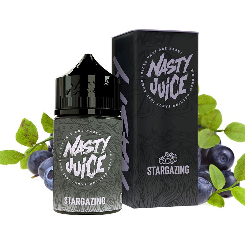 Příchuť Nasty Juice S&V: Stargazing (Borůvková směs) 20ml