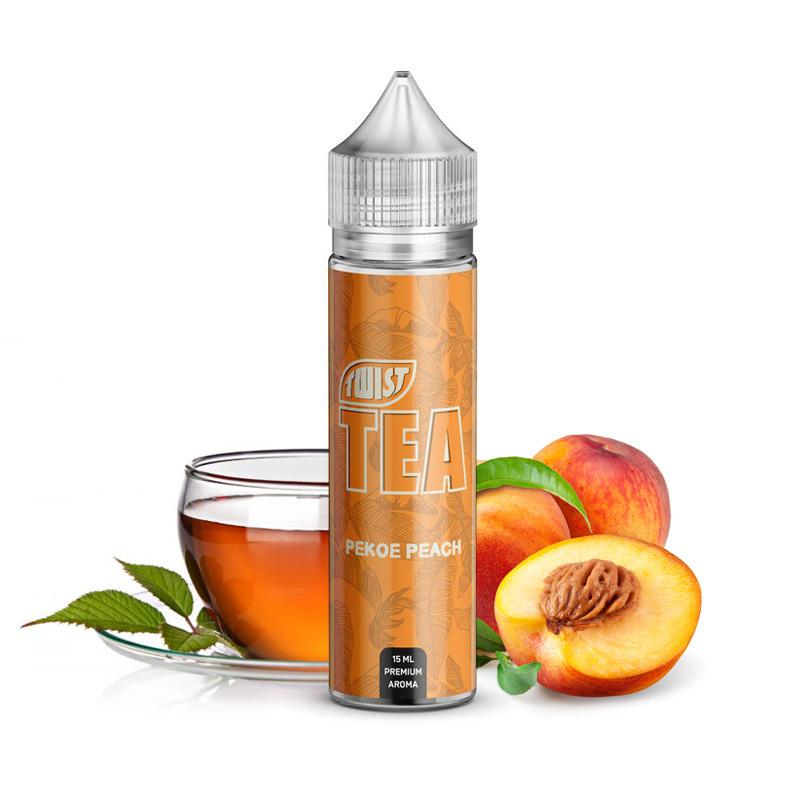 Příchuť Twist Tea S&V: Pekoe Peach (Ceylonský broskvový čaj) 15ml