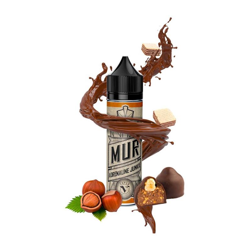 Příchuť Mur S&V: Adrenaline Junkie (Lískooříškové pralinky s čokoládou) 20ml