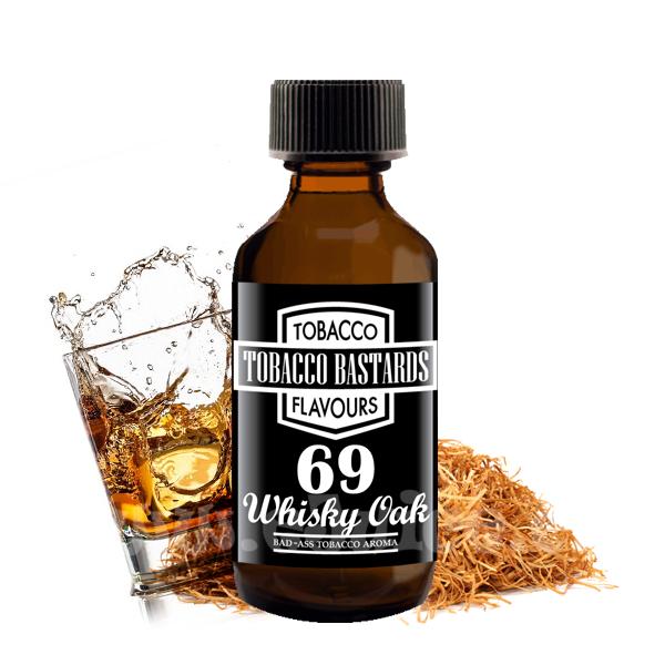 Příchuť Tobacco Bastards: No. 69 Whisky Oak (Tabák s whiskey) 10ml