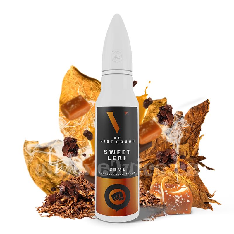 Příchuť Riot Squad No5 S&V: Sweet Leaf (Sladká tabáková směs) 20ml