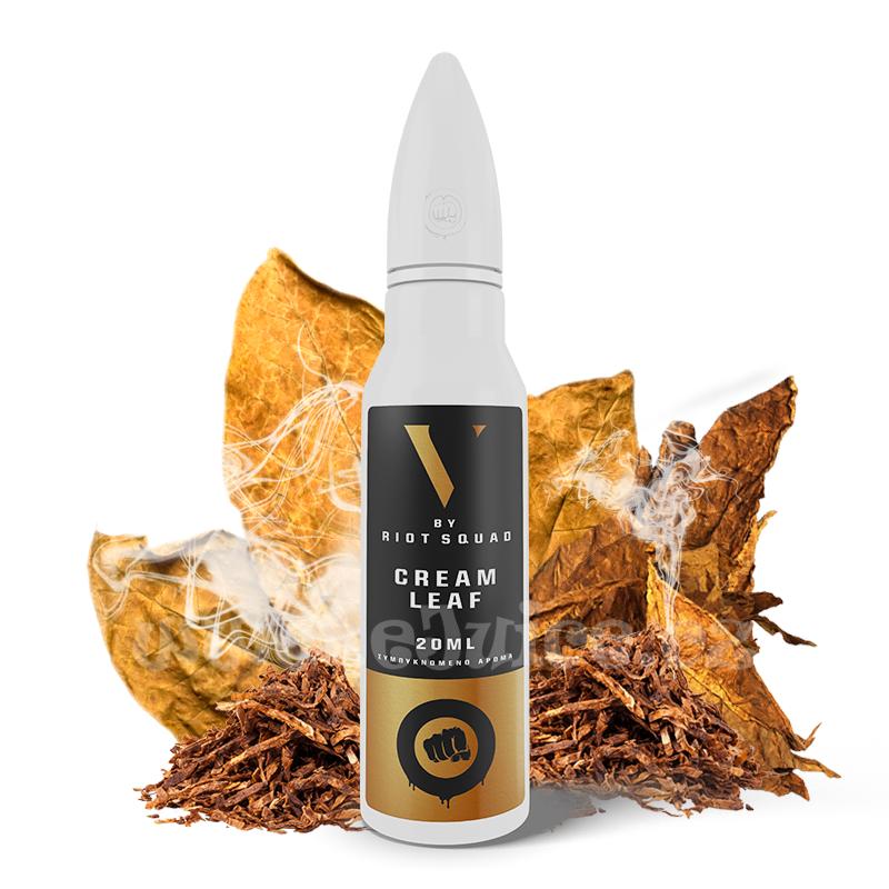 Příchuť Riot Squad No5 S&V: Cream Leaf (Jemný tabák) 20ml
