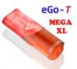 Cartridge pro atomizéry Joye eGo-T / eGo-C MEGA XL (5ks) - Červe