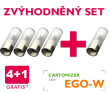 AKCE 4+1: Cartomizér eGo-W (Čirý)