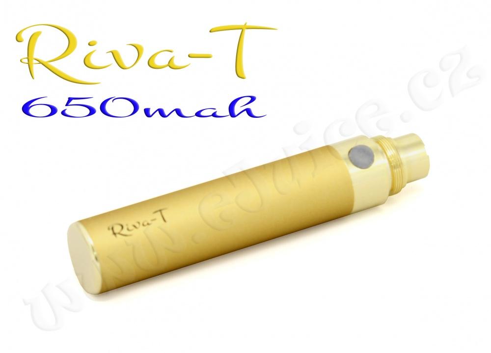 [!Doprodej] - Baterie Riva-T - (650mAh) - MANUAL (Zlatá)