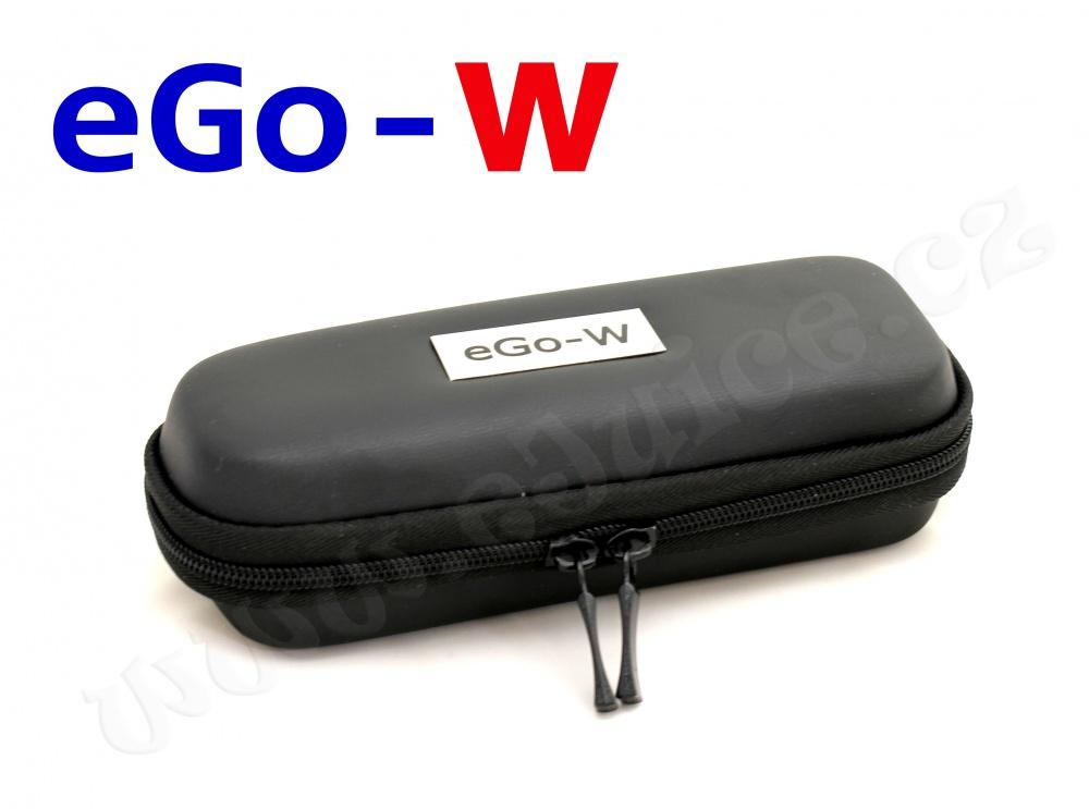 [!Doprodej] - Pouzdro pro elektronickou cigaretu (logo eGo-W) (Černé)
