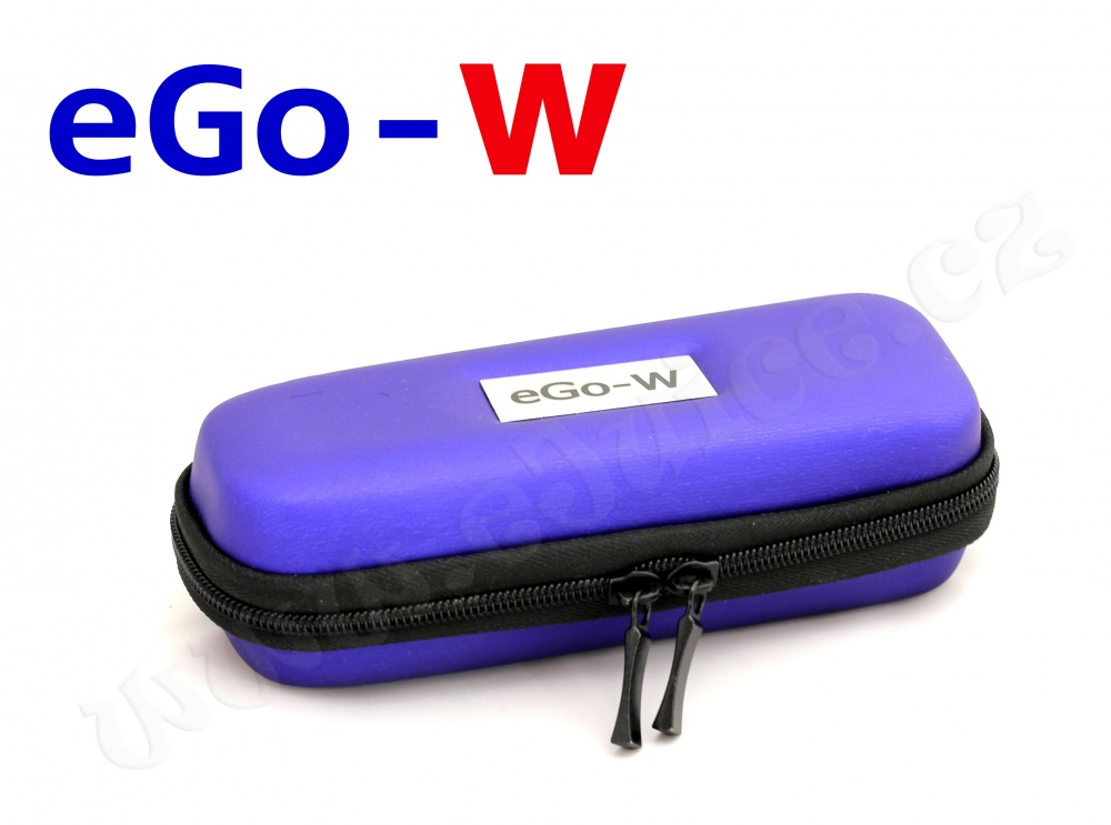[!Doprodej] - Pouzdro pro elektronickou cigaretu (logo eGo-W) (Modré)