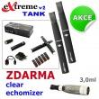 Elektronická cigareta: eXtreme v2 TANK (2x 1300mAh) - (Černá), 2
