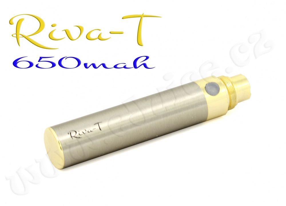 [!Doprodej] - Baterie Riva-T - (650mAh) - MANUAL (Chromová)