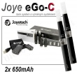 Elektronická cigareta JoyeTech eGo C, 2ks v balení, černá